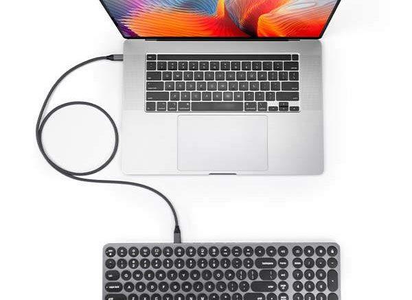 Kolude KD-K1 Keyhub Aluminum Keyboard with USB-C Hub