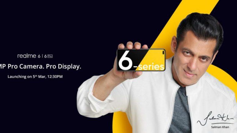 realme 6 and realme 6 Pro India launch invite 1024x503 1