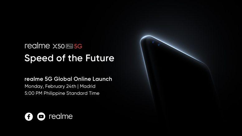 realme X50 Pro 5G Live Stream Announcement