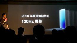OnePlus 120Hz refresh rate display 1