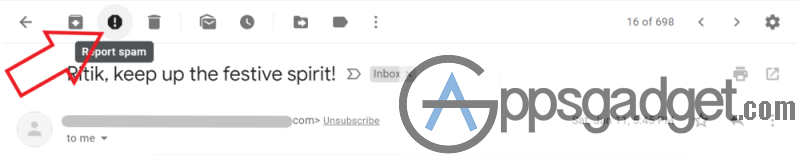 Unsubscribe from Spam Emails