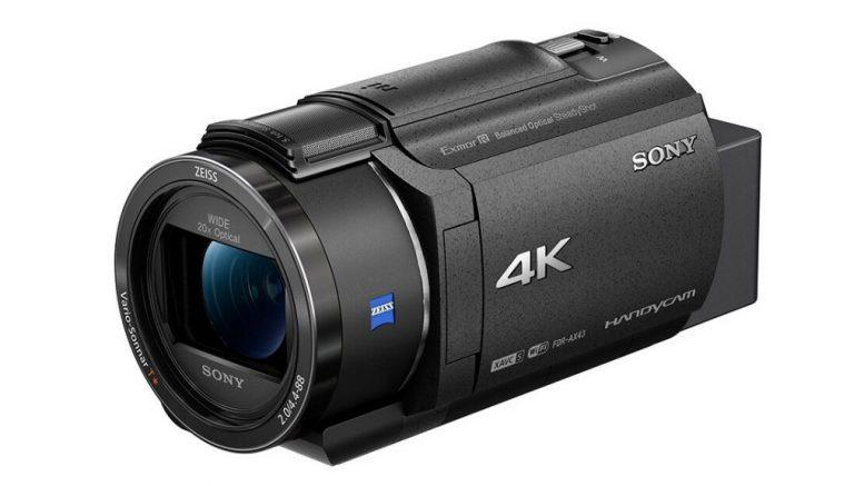 Sony FDR AX43 4K Handycam 1024x657 1