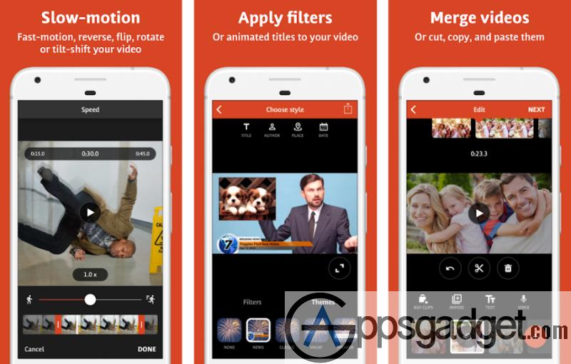 VideoShop- Slo-mo Making app