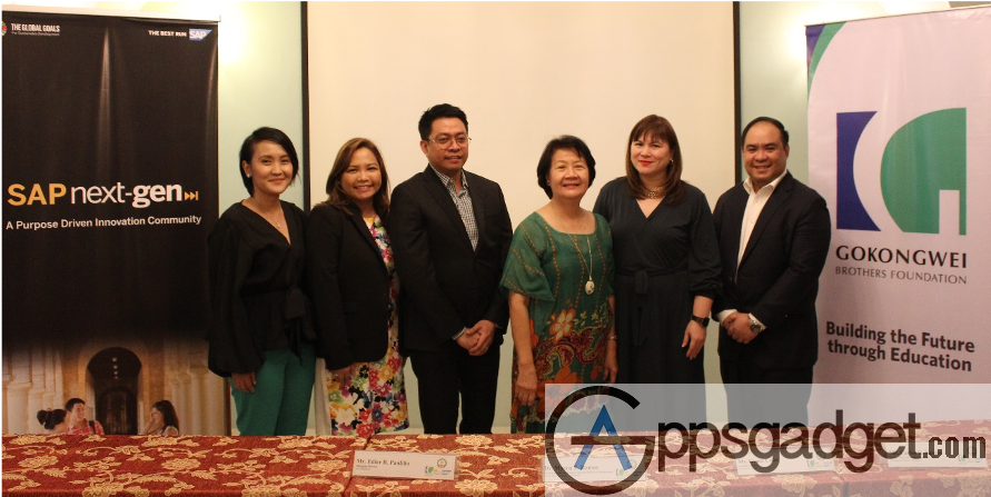 JG Summit, GBF and SAP tie up with DLSU-D Helping Shape the Leaders of Tomorrow