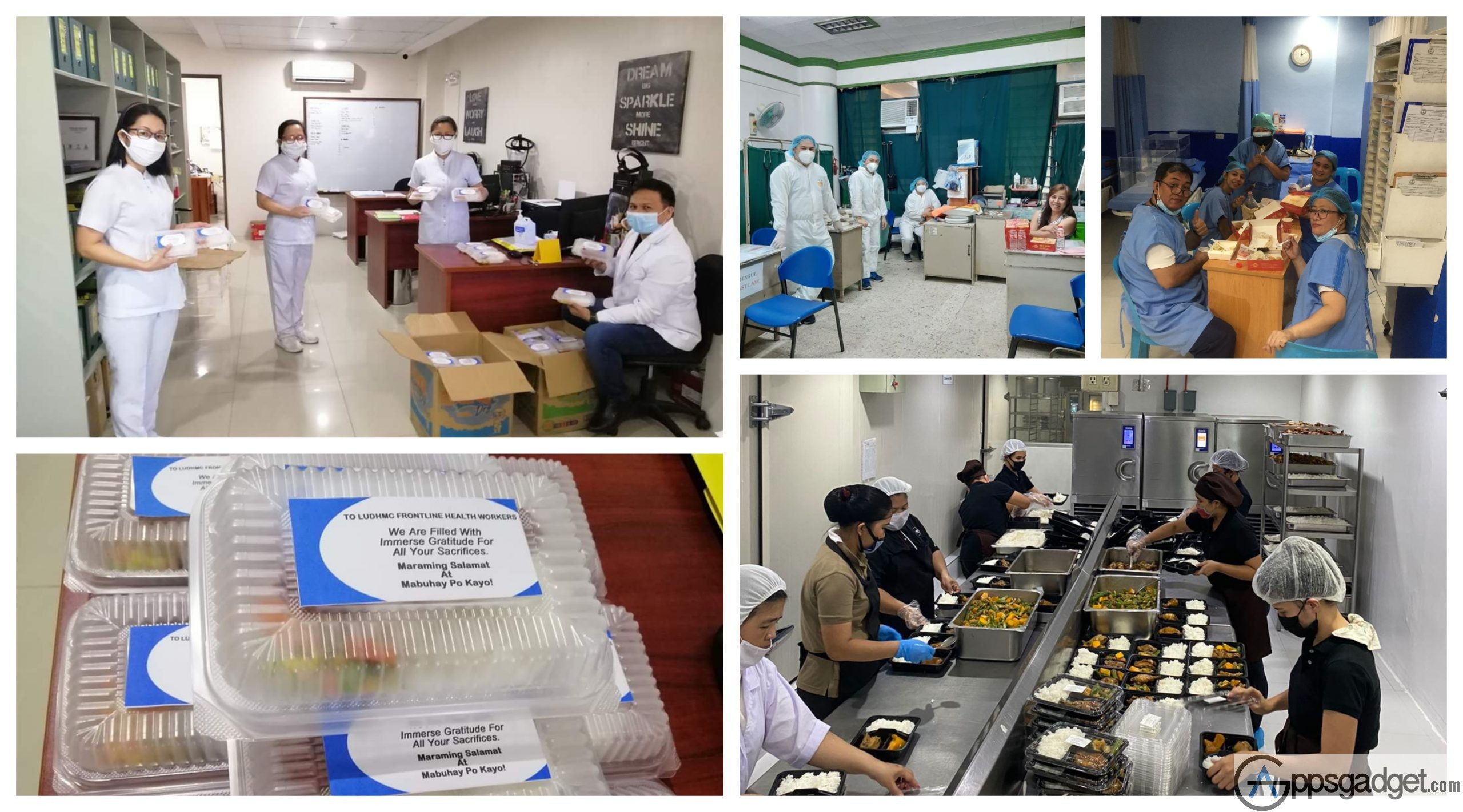 Globe myBusiness Food Distribution to Hospitals