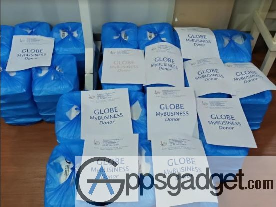 Globe myBusiness food distribution to hospitals 10