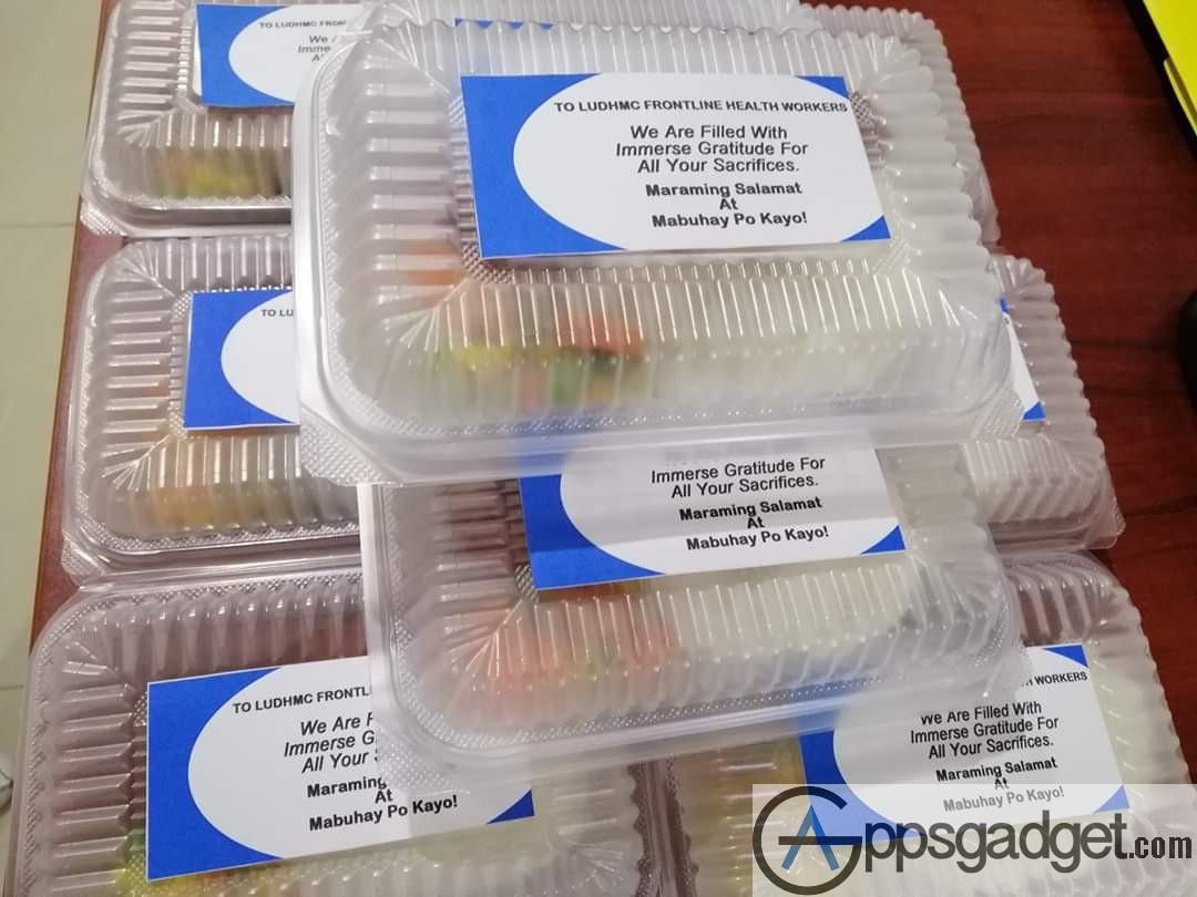 Globe myBusiness food distribution to hospitals 4