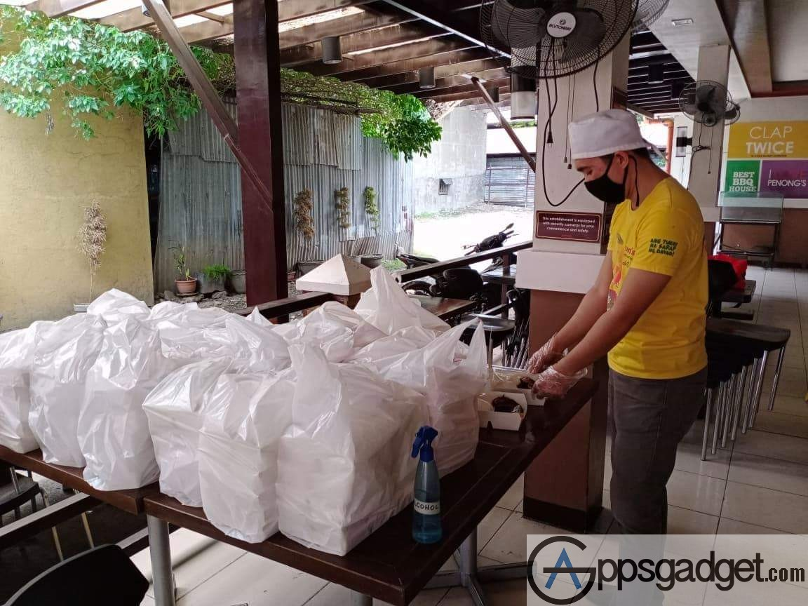 Globe myBusiness food distribution to hospitals 7