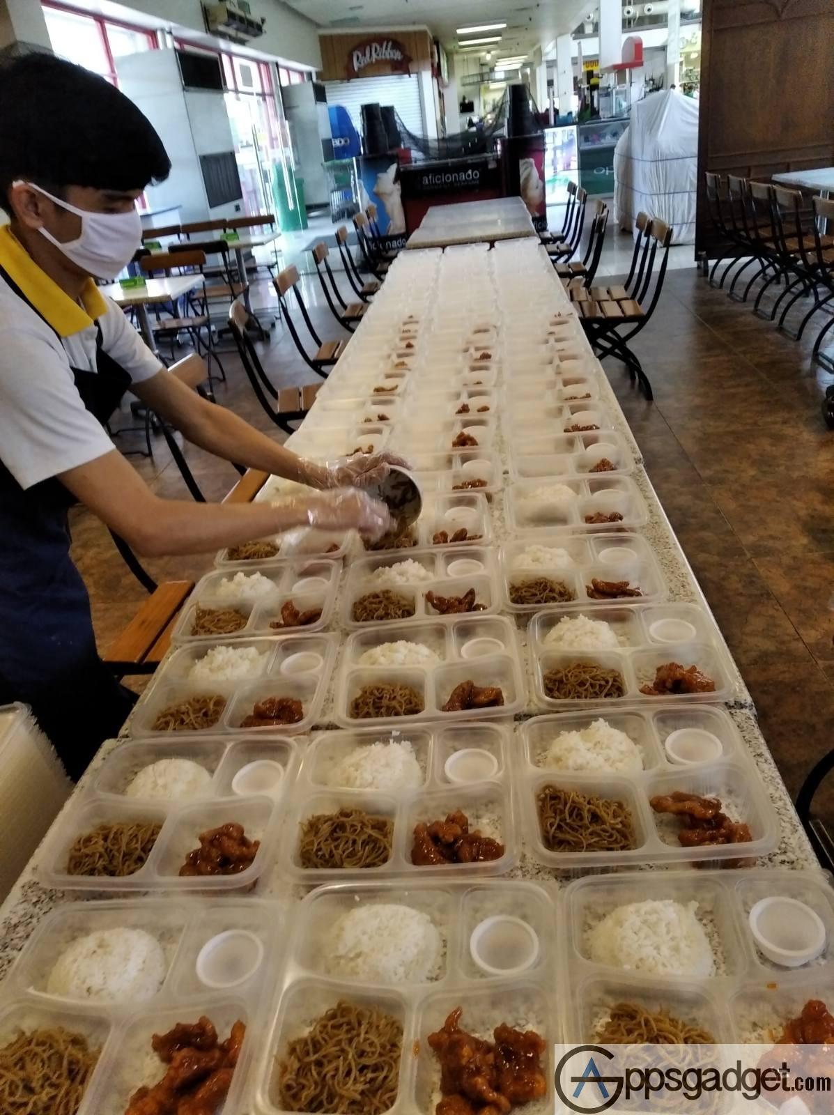 Globe myBusiness food distribution to hospitals 8