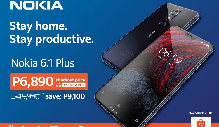 KV Nokia 6.1 Plus Shopee flash sale
