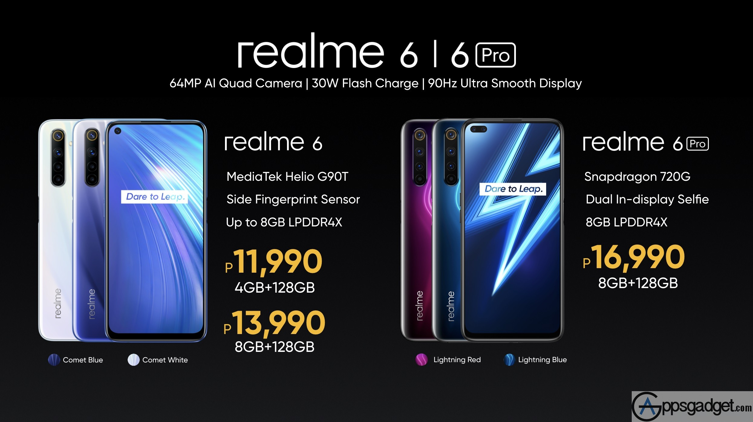 Affordable Flagship Level realme 6 and 6 Pro Launched with Freebies and Free realme Band