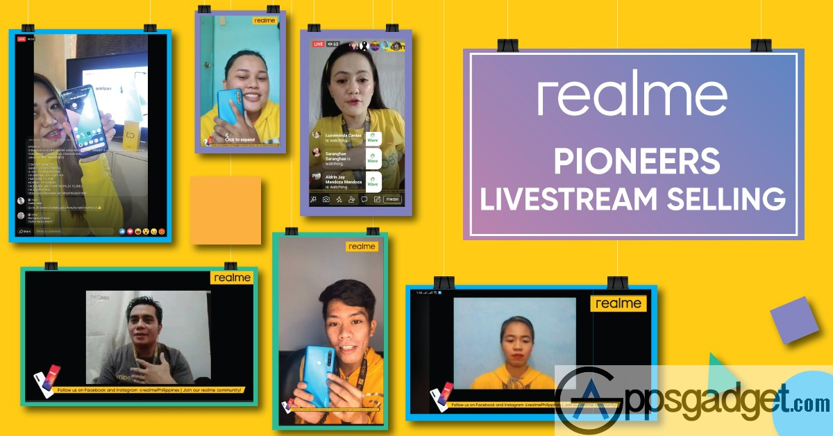 Realme Philippines Pioneers Livestream Selling for its Employees & Deployed its Online Content Series