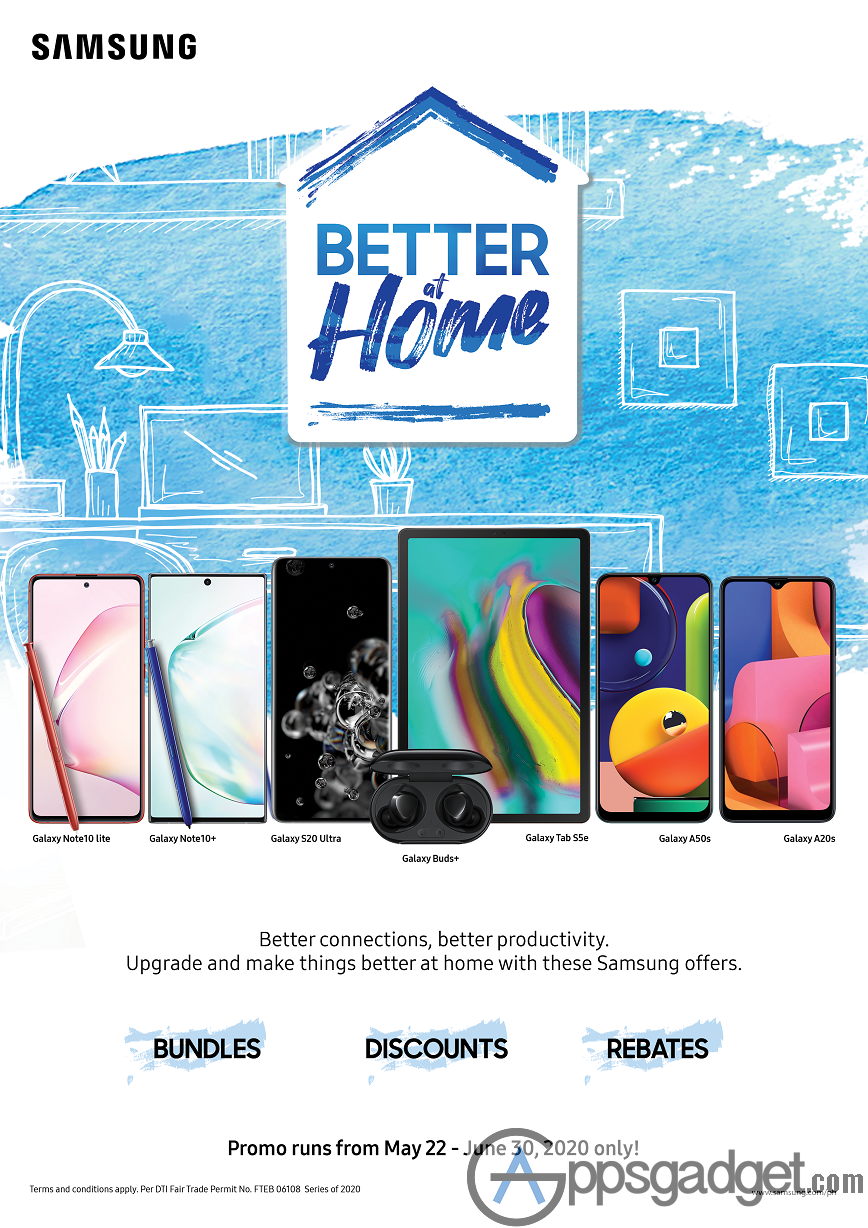 SAMSUNG Better at Home Promo