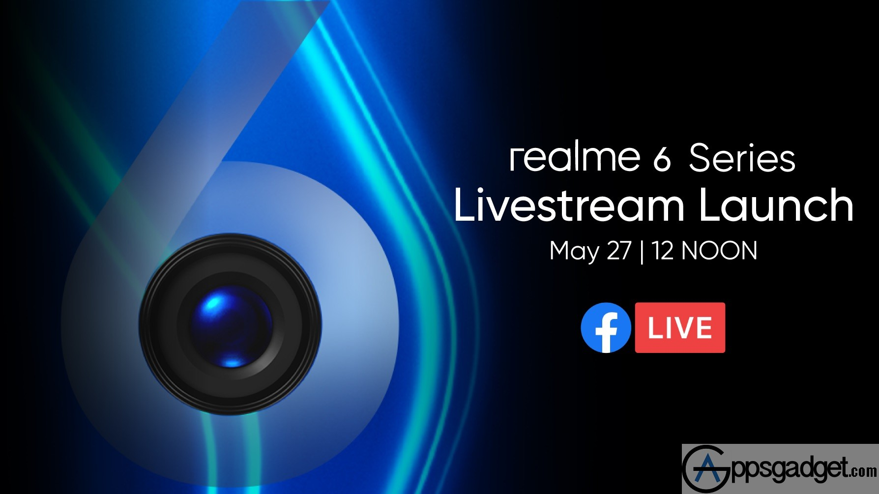 realme 6 and realme 6 Pro to Launch on May 27 via Facebook Live Stream Online