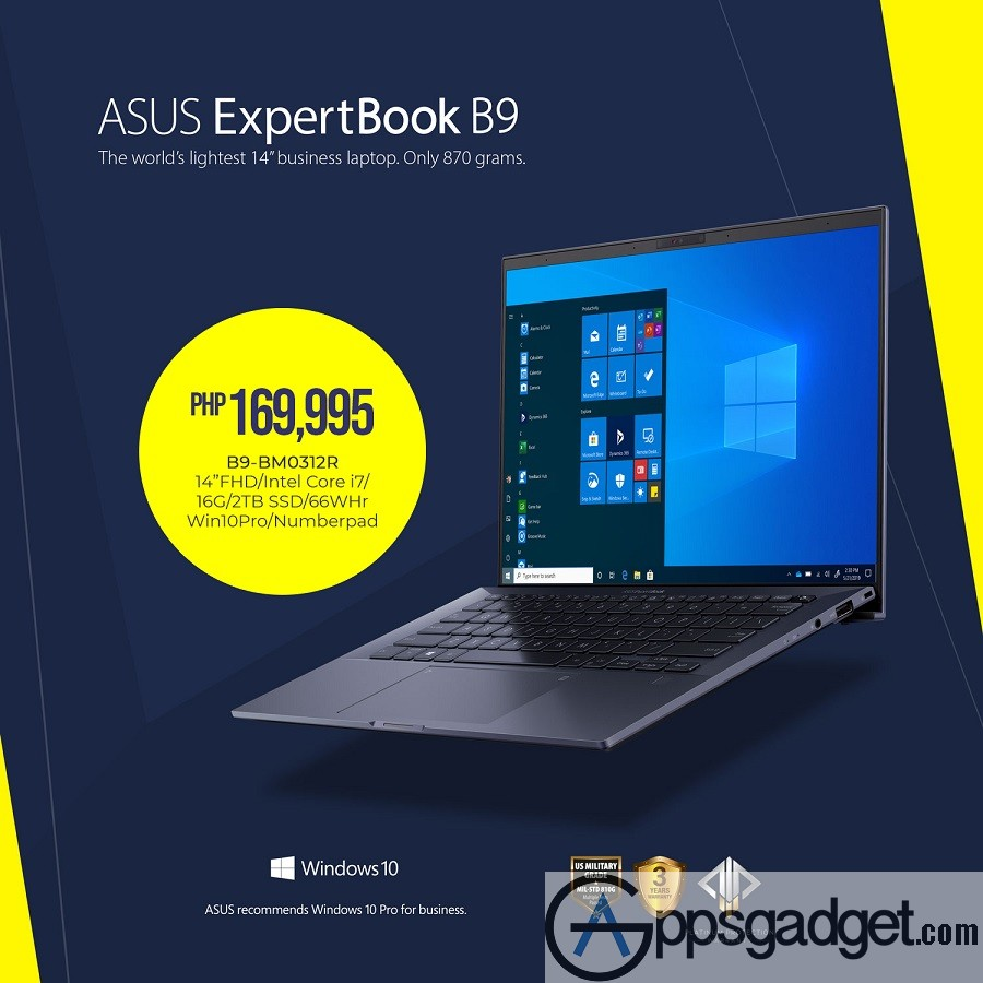 ASUS Launches ExpertBook B9 and ProArt StudioBook Series in PH