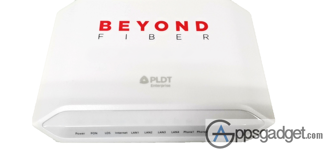 Beyond Fiber modem PLDT Launches Beyond Fiber Connection for only P2,500 a month w/ premium WiFi device and Dedicated business Hotline