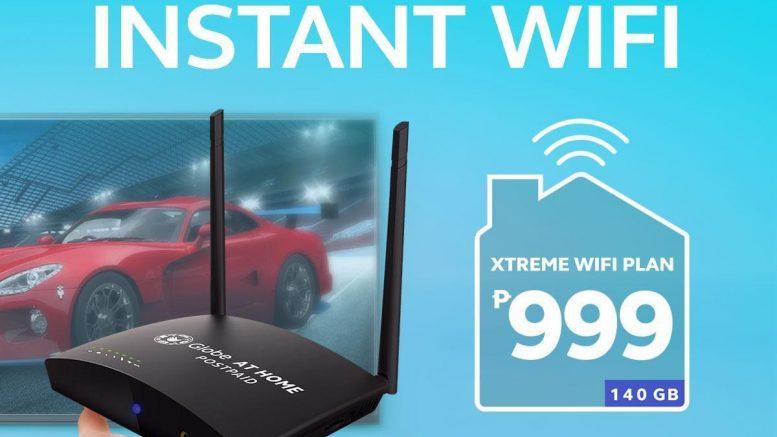 GAH Xtreme WiFi Plan 999
