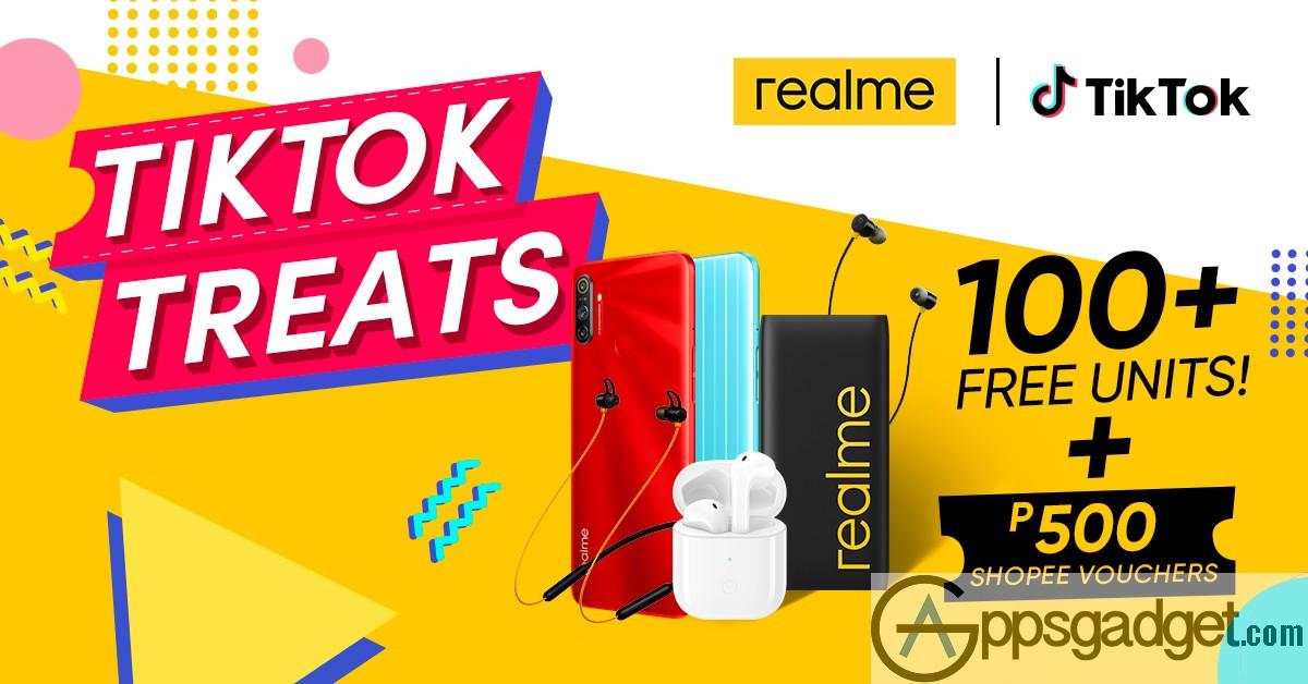 KV realme Philippines partners with TikTok
