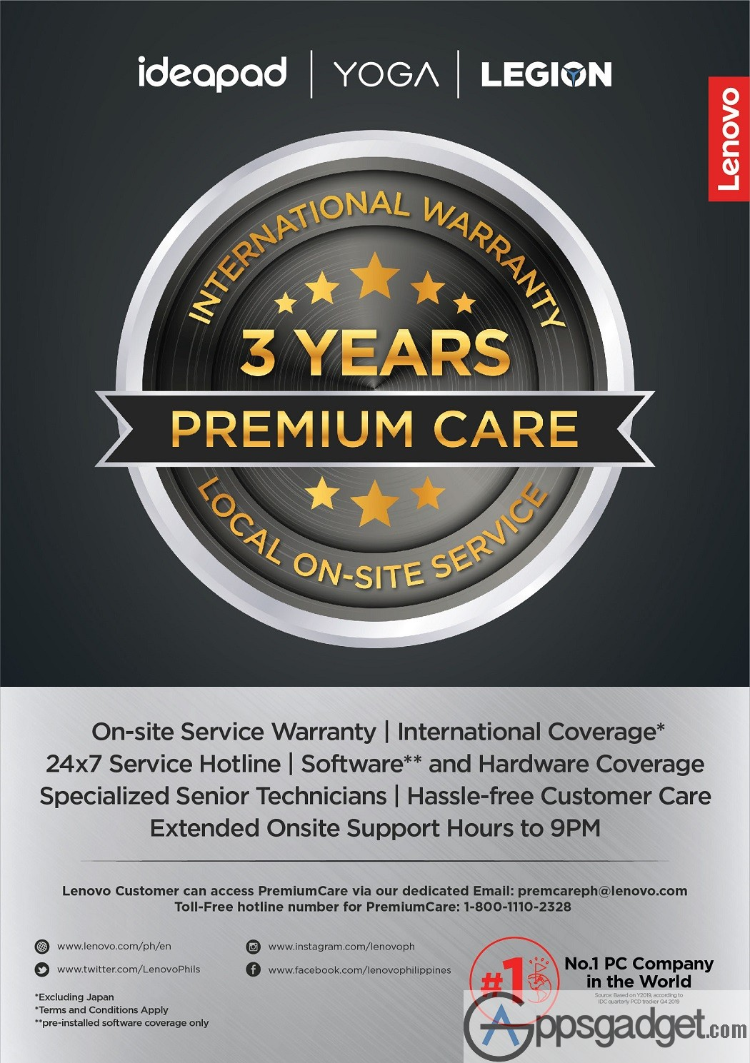 Lenovo Unveils 3 Year Premium Care Service to Mitigate Warranty issues During Pandemic