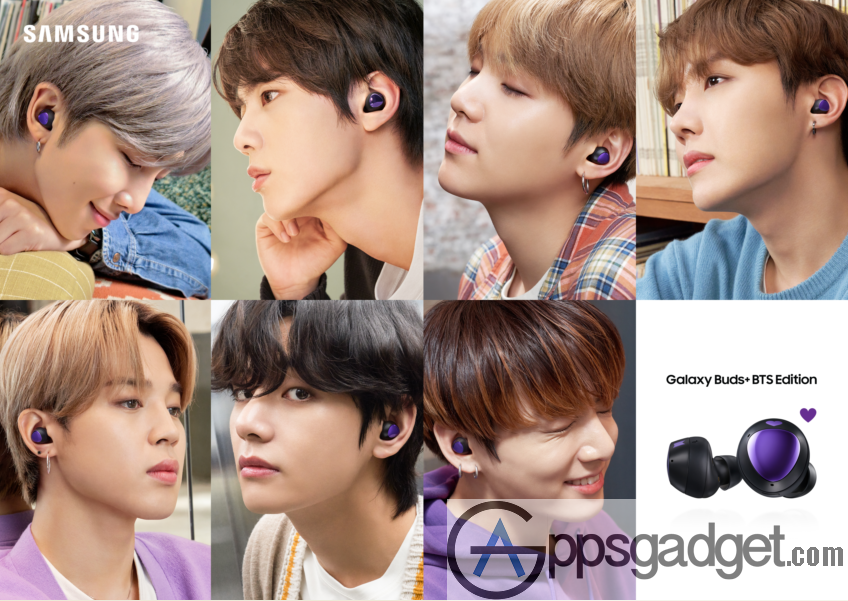 SAMSUNG Galaxy S20+ BTS Edition is now Available for Pre-order on June 24