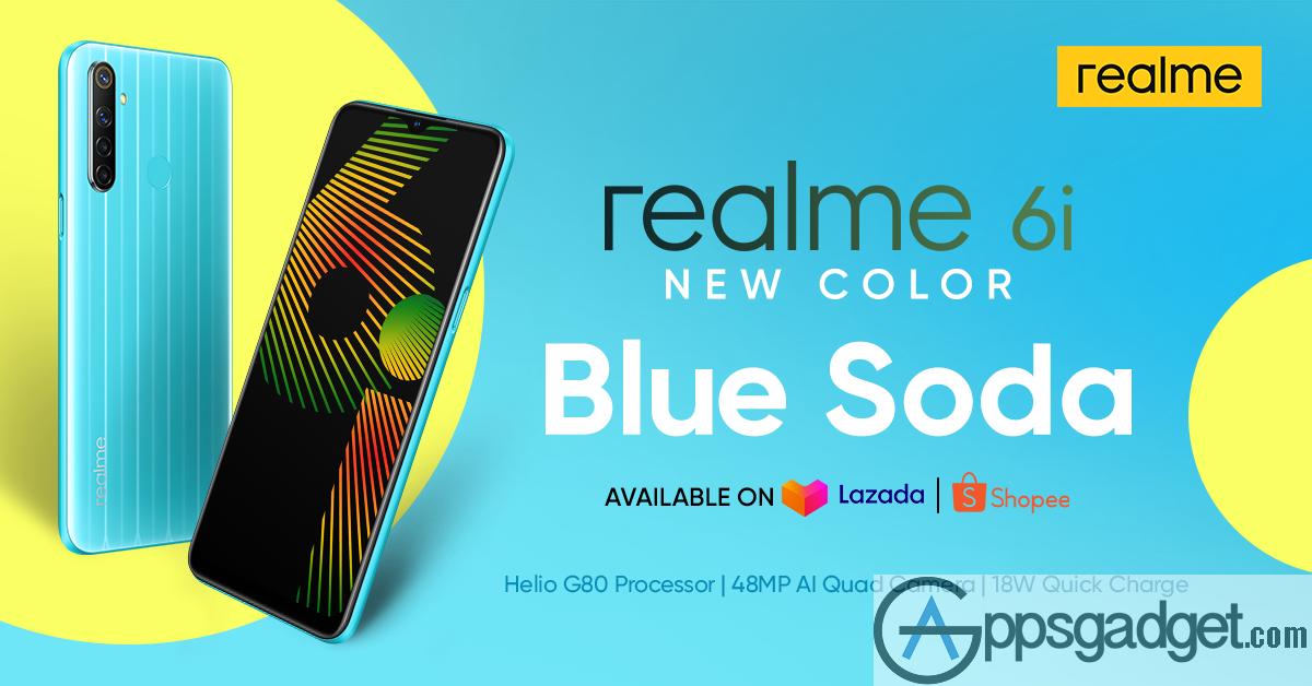 realme Philippines releases the realme 6i Blue Soda variant