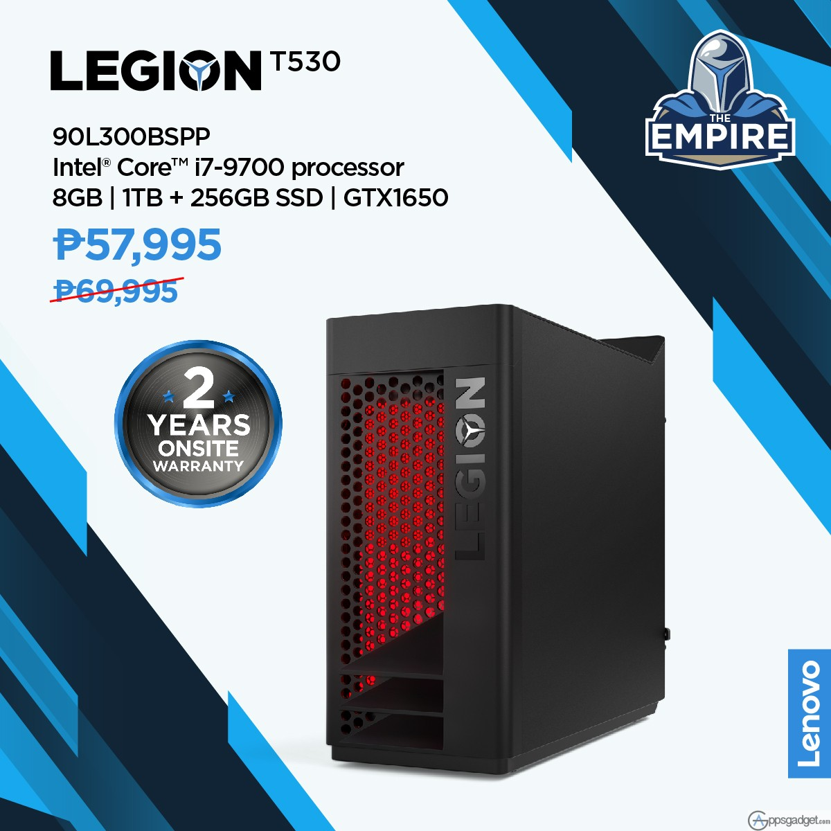 Lenovo Legion 'The Empire' Rewards Program for Gamers in its Gaming Community