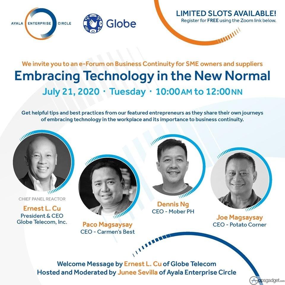 Globe x AEC Webinar July 21