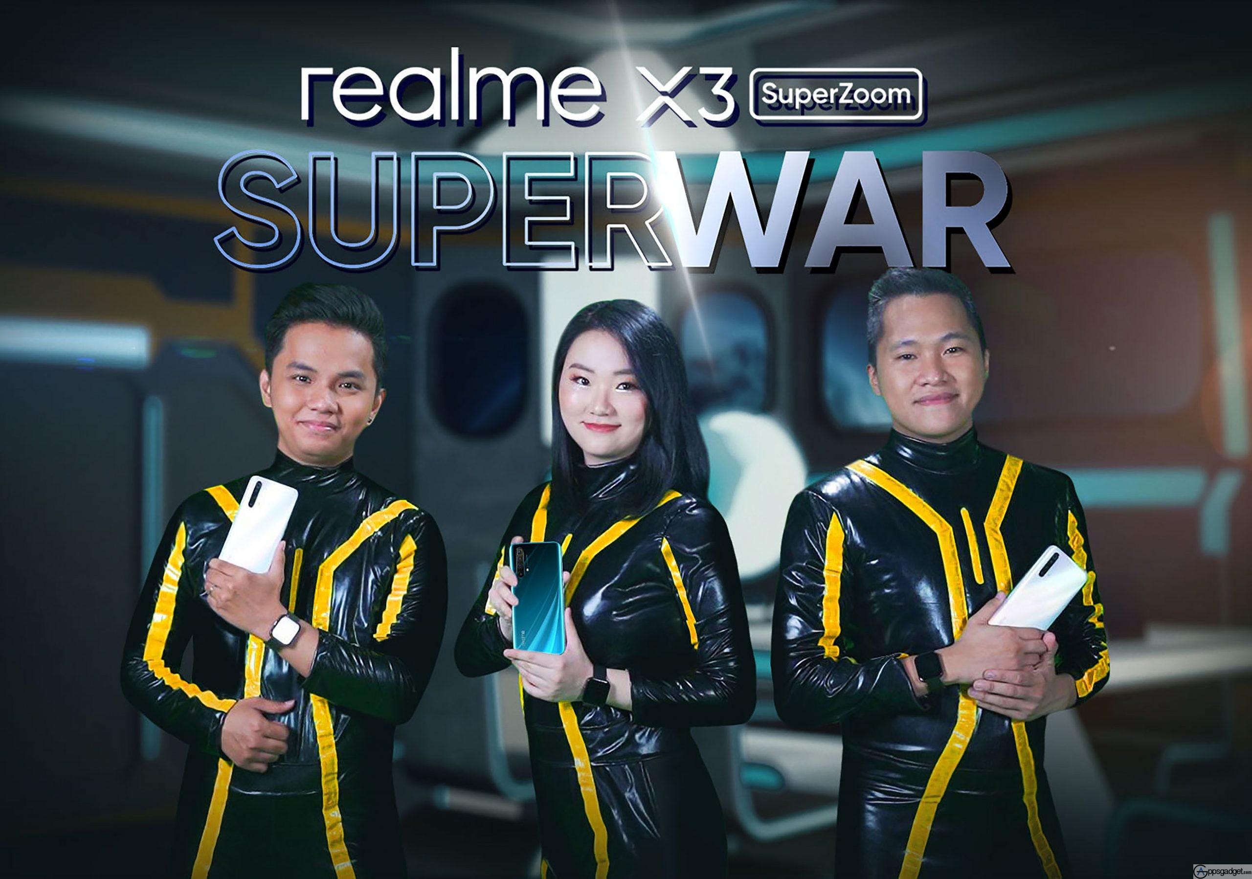 realme X3 with 60x digital zoom, 12GB RAM + 256GB storage ,Snapdragon 855+ and 2.96Hz octa-core Processor Released