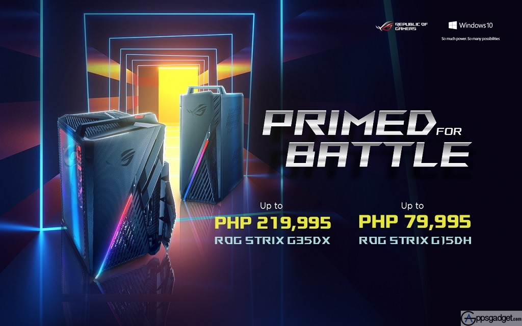 ASUS New ROG STRIX Pre-build Gaming Desktops 2020