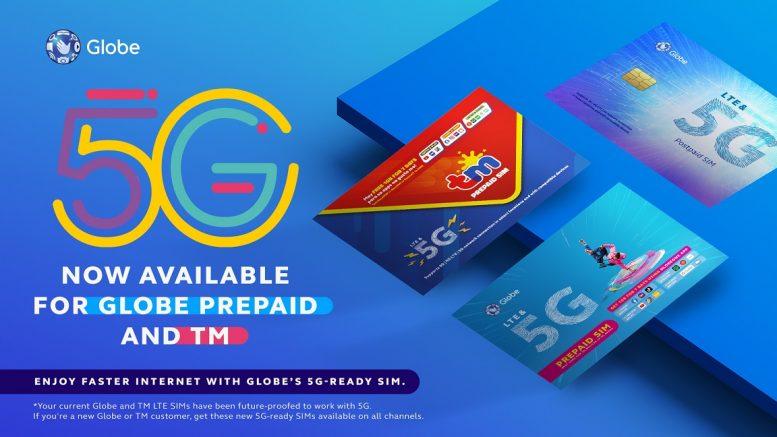 Globe 5G prepaid TM