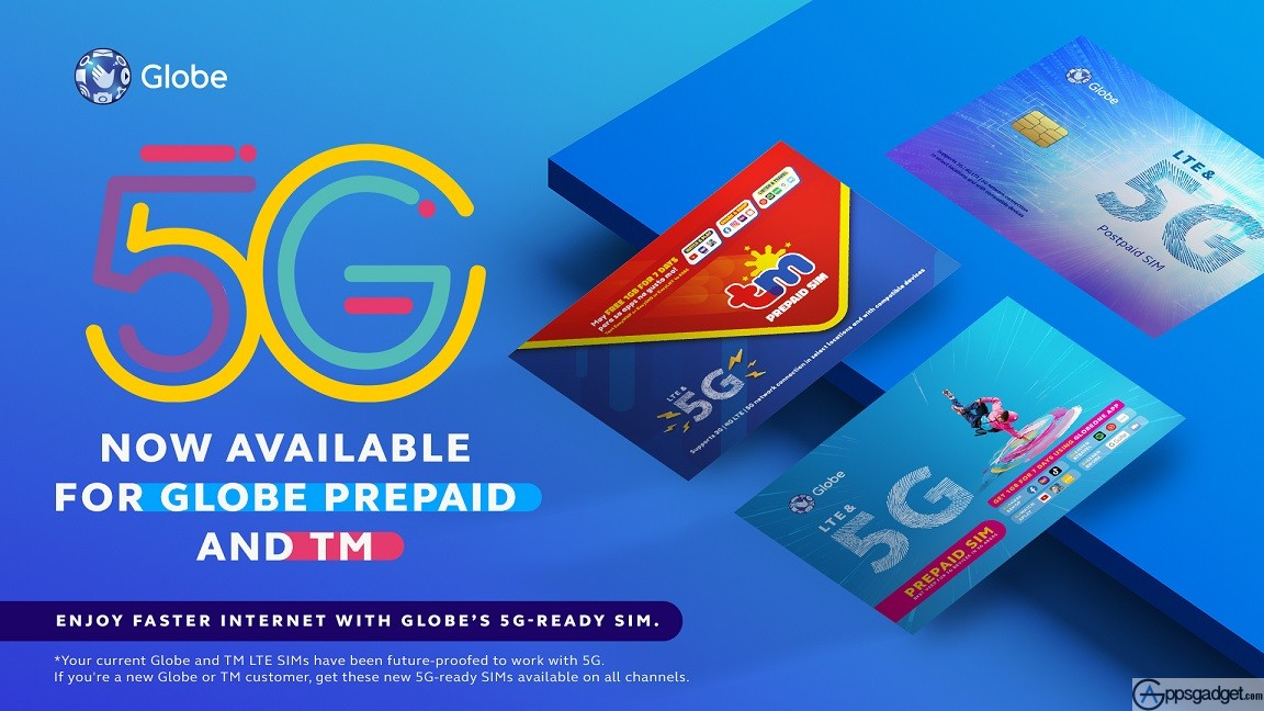 Globe 5G Now Available to Prepaid and TM Subscribers