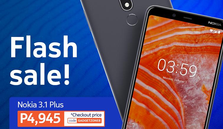 Nokia 3.1Plus flash sale