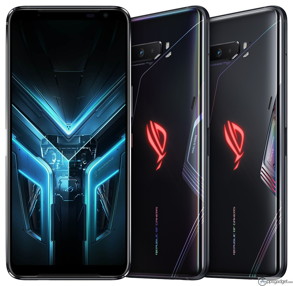 ASUS ROG PHONE 3 with 16GB of RAM, 6000 mAH and 12GBstorage to be Released on Augugst 22 #GAMEWITHOUTLIMITS