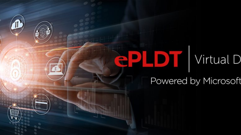ePLDT Virtual Desktop Header