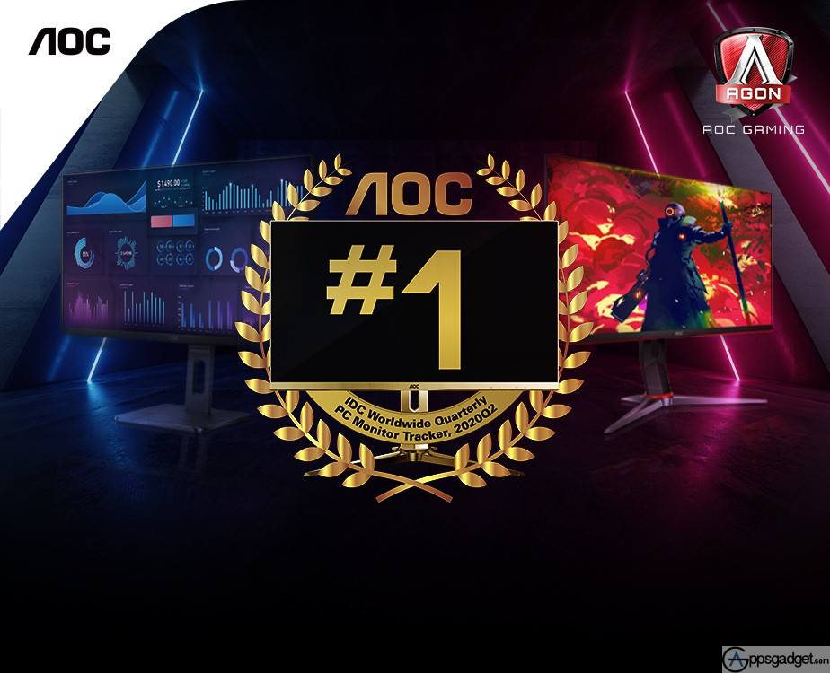 AOC is Philippines' Number 1 PC Monitor brand