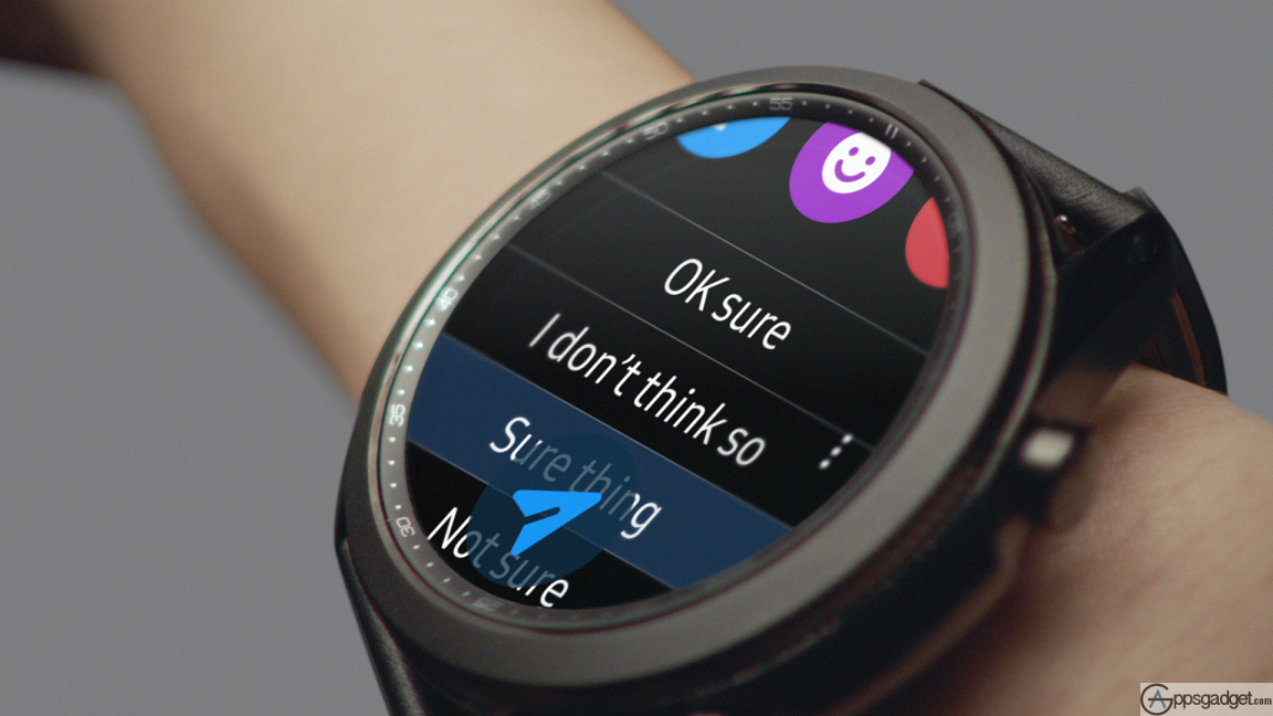 SAMSUNG Galaxy Watch3 with health and wellness monitoring and measures Blood oxygen