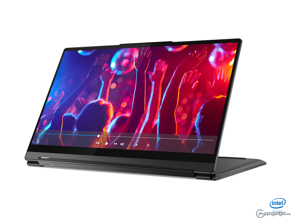 Lenovo Yoga 9i Front Facing Left Stand