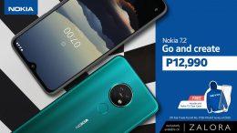 Nokia 7.2 price drop on Zalora KV