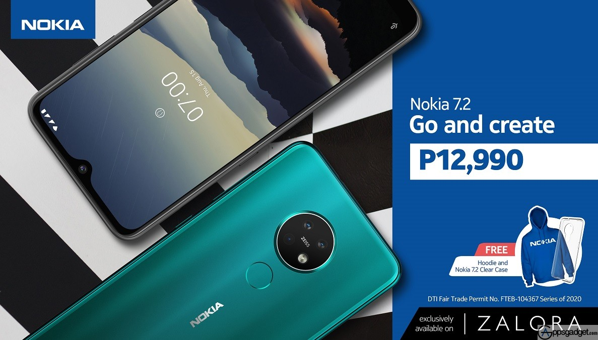 Nokia Smartphones Now on Zalora The First on its Platform offers Discount on Nokia 7.2