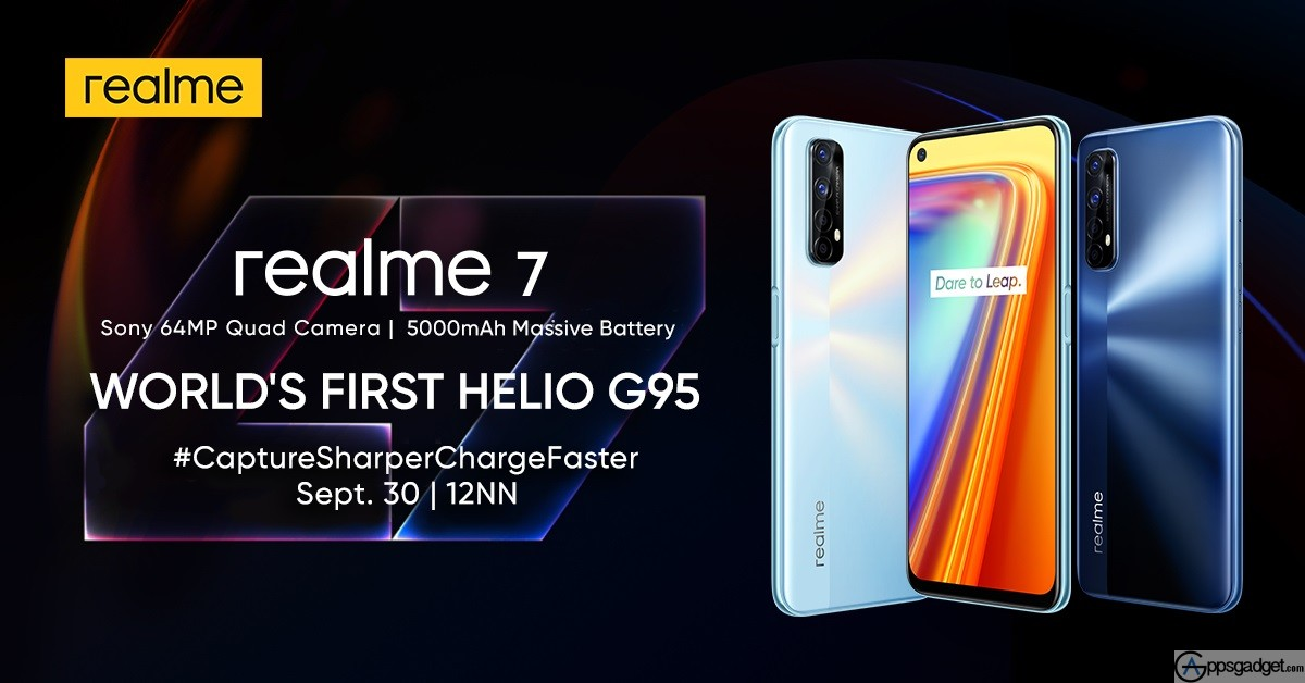 realme 7 with 128GB, 8GB RAM, 90Hz display, 16 MP Front Camera and a 64MP Sony IMX682 Rear Camera to be Launched in PH