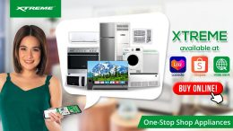 XTREME Appliances is available on Lazada Shopee and www.xtreme.com .ph