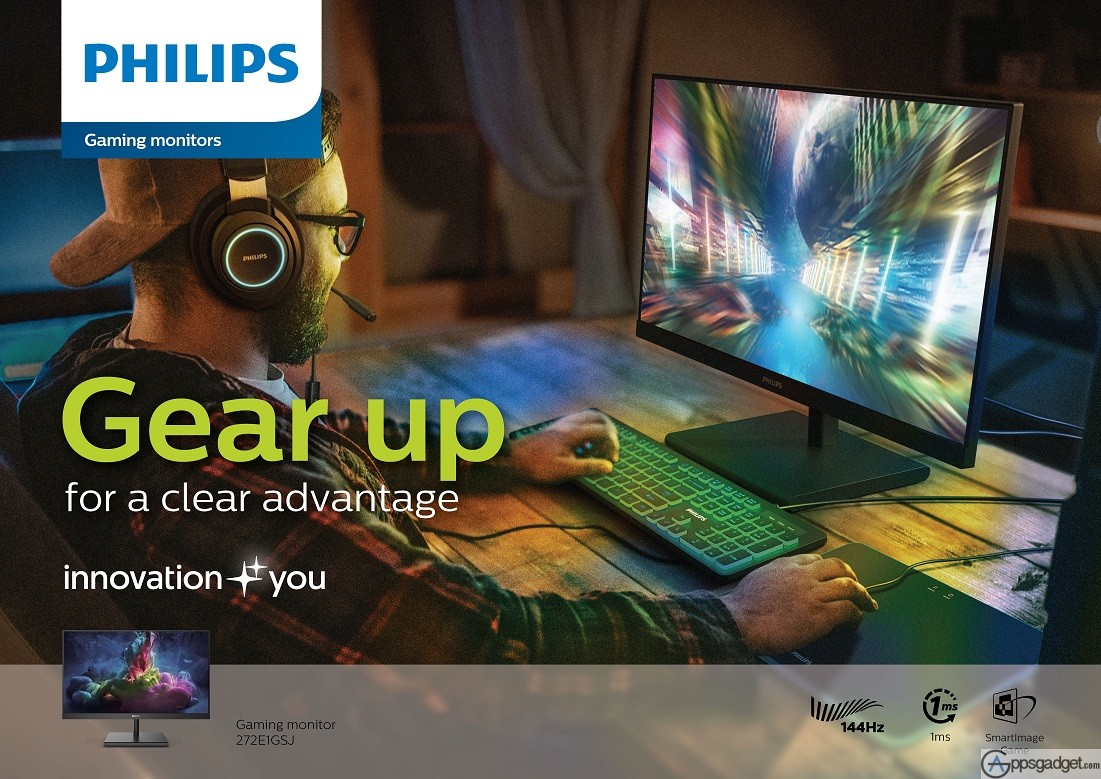 Philips Monitors Launches New Gaming Monitors