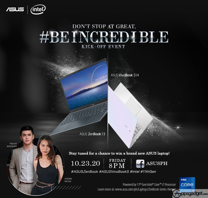 ASUS ZenBook 13 UX325 and ASUS VivoBook S14 with Intel 11th Generation Processors to be Announced in PH