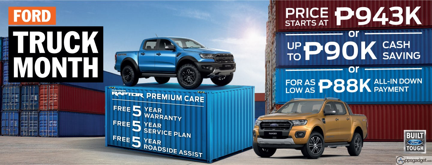 October Ford Truck Month Get The Best Deals for the Ford Ranger