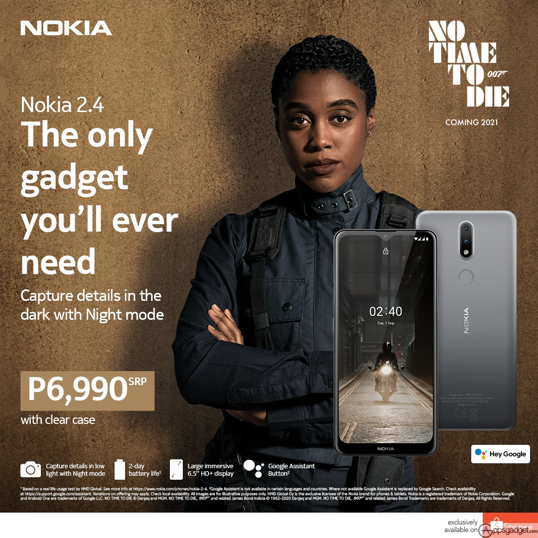"""Preorder Nokia 2.4 with large 6.5"""" HD+ screen and a 2 day Battery life Exclusively available on Shopee"""