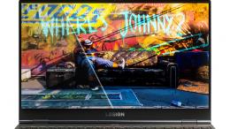 Lenovo Legion Slim 7i Intel Closeup Display