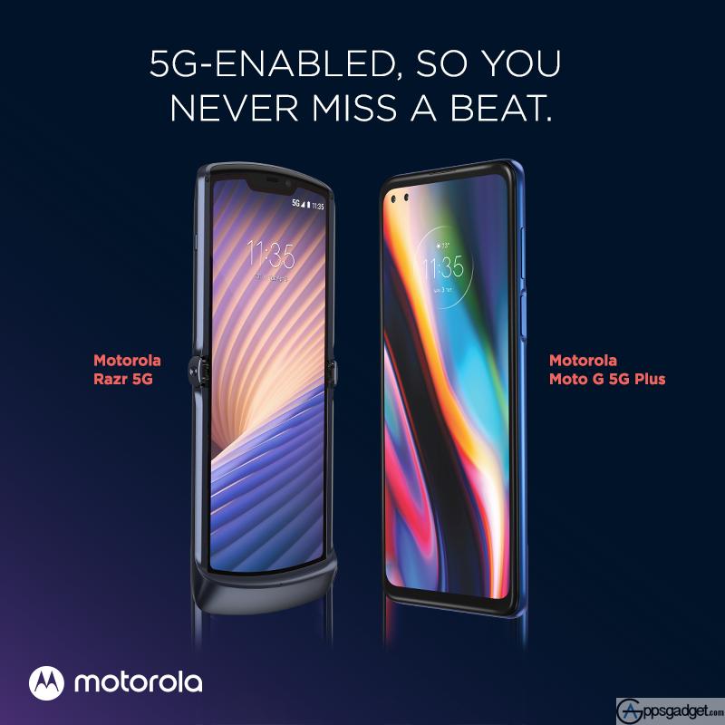 Motorola is back with Moto Razr 5G and Moto G 5G