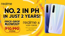 realme is top 2 smartphone brand in PH celebrates with a price drop on midrange beast realme 6