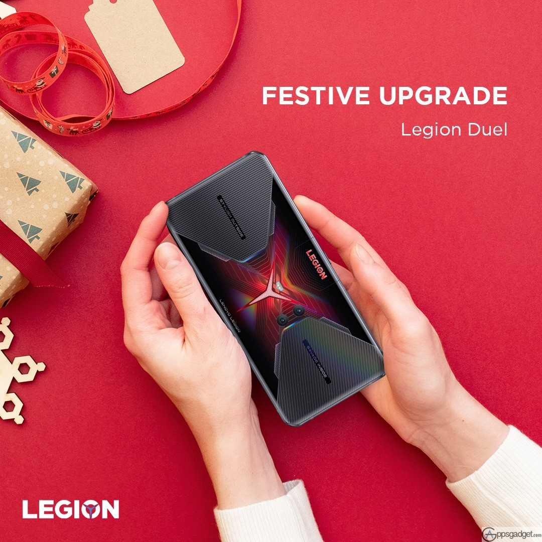 Lenovo Legion Empire Christmas Sale Promo and Earn Points to redeem Exclusive Legion merchandise