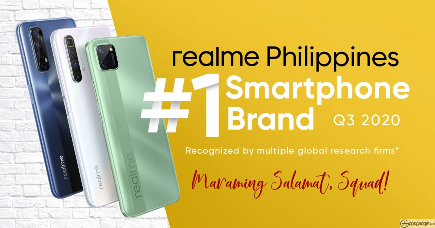 realme Number 1 Smartphone Brand Slot in the Philippines in Just 2 Years